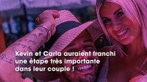 Kevin Guedj a demandé Carla en mariage cette nuit à New York !