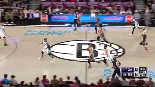 Charlotte Hornets 113 - 108 Brooklyn Nets