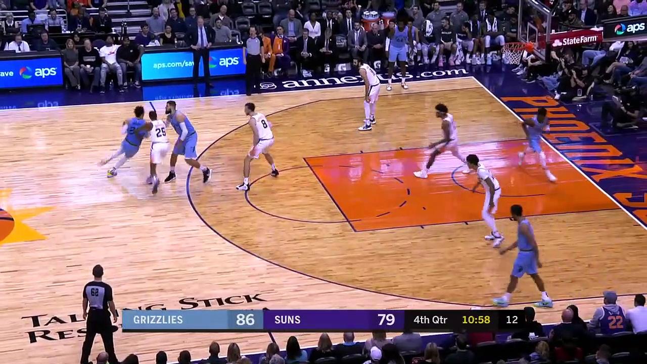 Memphis Grizzlies 115 - 108 Phoenix Suns