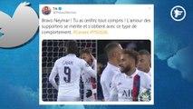 Le cadeau de Neymar à Cavani fait réagir Twitter
