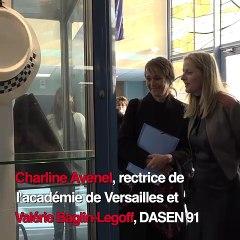 Visite du lycée professionnel Jean Monnet de Juvisy-sur-Orge (91)
