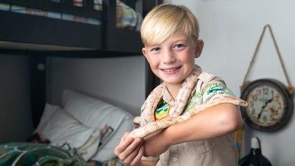 CRIKEY! 10-Year-Old Reptile Fan Bitten By Pet Snake | BEAST BUDDIES