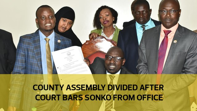County assembly divided after court bars Sonko from office