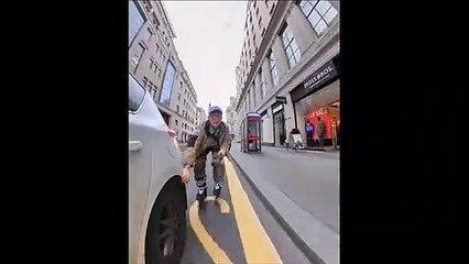 Faire du roller en ville : une aventure risquée