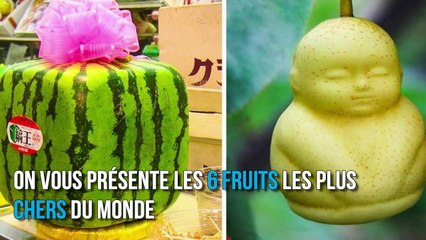 Voici les 6 fruits les plus chers du monde