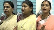 Watch BJP Mahila Morcha Activists Ready For Samme Over Liquor || Oneindia Telugu