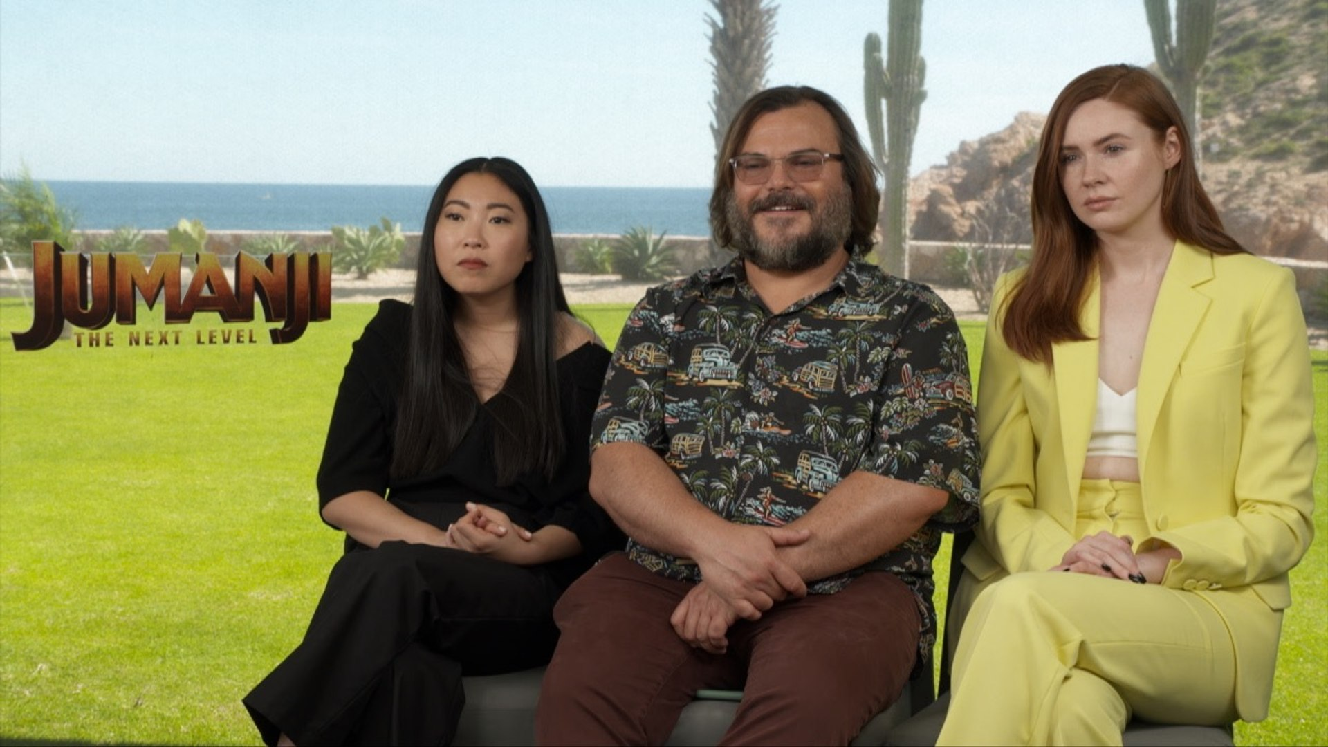 Jack Black, Karen Gillan and Awkwafina on their strengths and weaknesses