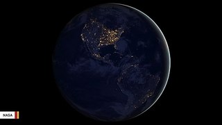 This Striking Night Image Shows North America From Space