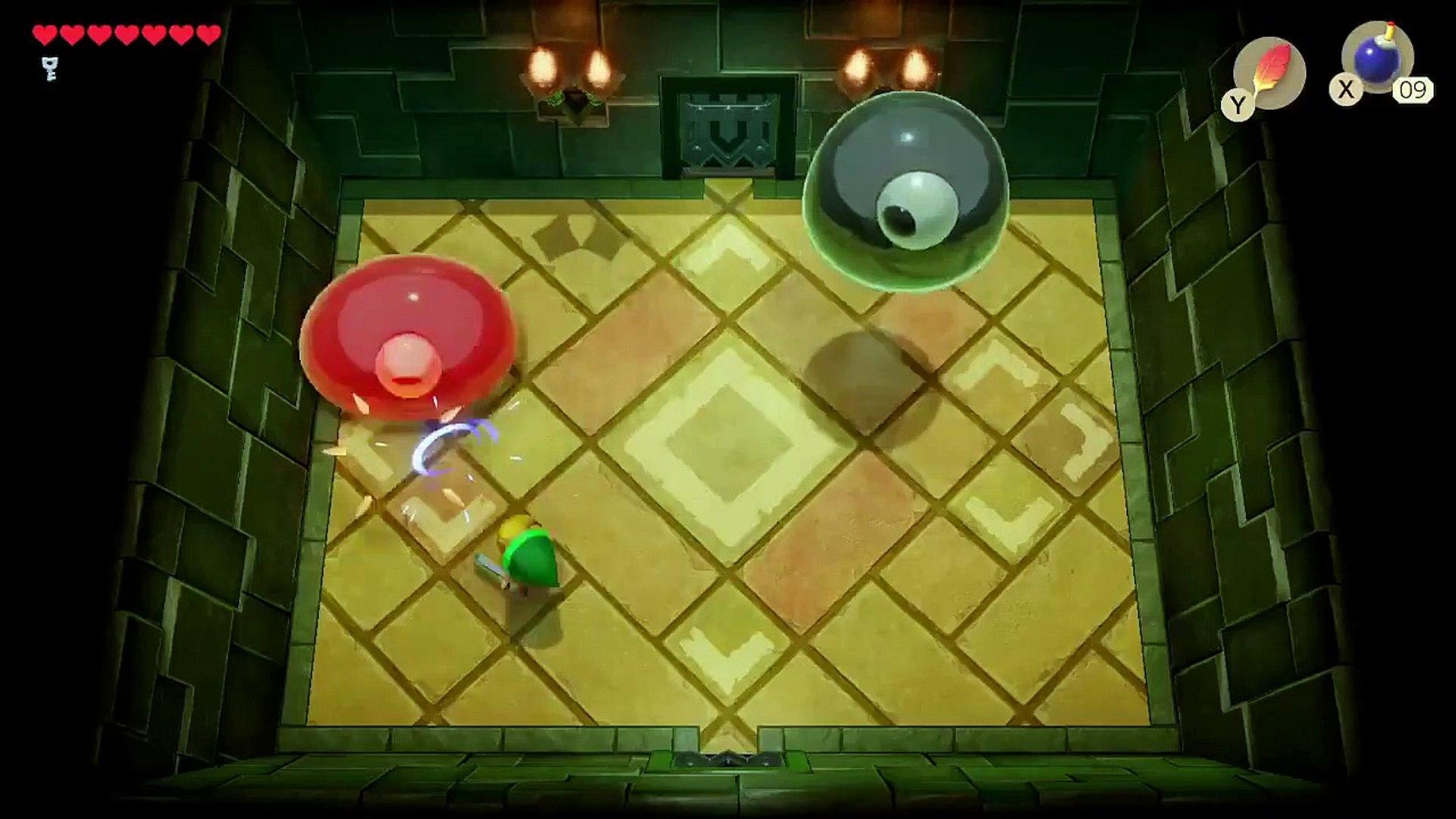 My Legend Of Zelda Link S Awakening Random Gameplay Part 3 Slime Eye