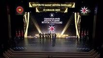 Cumhurbaşkanlığı Kültür Sanat Büyük Ödülleri verildi
