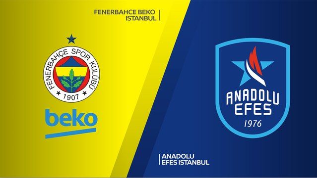 Fenerbahce Beko Istanbul - Anadolu Efes Istanbul Highlights   Turkish Airlines EuroLeague, RS Round 13