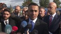 Luigi Di Maio,  vizitë në Tiranë/ Ministri i jashtëm  italian shikon nga afër kampin e Vorës