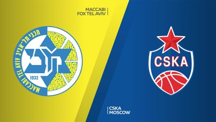 EuroLeague 2019-20 Highlights Regular Season Round 13 video: Maccabi 90-80 CSKA