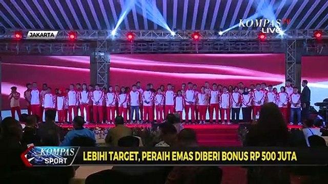 Ditargetkan 60 Emas, Kontingen Indonesia Raih 72 Emas
