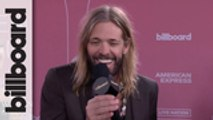 Taylor Hawkins Talks Meeting & Working With Alanis Morissette | Women In Music 2019