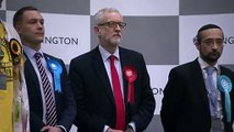 Corbyn: I will not lead Labour in future general elections