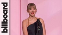 Taylor Swift Accepts Woman of the Decade Award   Women In Music 2019