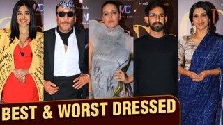 Critics Choice Awards BEST AND WORST Dressed 2019 | Jackie Shroff, Vivek Oberoi, Neha Dhupia