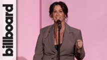 Alanis Morissette Accepts Icon Award | Women In Music 2019