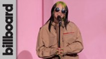 Billie Eilish Accepts Woman of the Year Award | Women In Music 2019