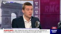 """Grève à Noël: Le vice-président du RN Jordan Bardella estime qu'""""il ne faut pas que les Français aient la double-peine"""""""