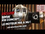 BMW R18 Concept - Exclusif, le moteur mis à nu !
