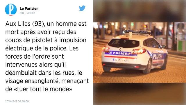 Seine-Saint-Denis : un homme meurt après une décharge de pistolet électrique de la police