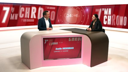 Axelle Merdinian - Présidente de Carrément St Chamond! - 7 MN CHRONO - TL7, Télévision loire 7