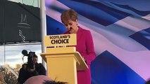 Nicola Sturgeon speaks after General Election 2019 Result