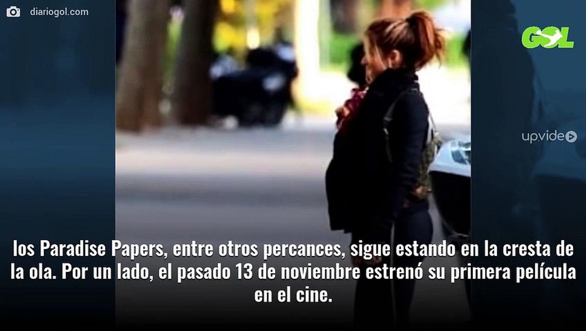 """""""¿Shakira está embarazada?"""". Pillada en Barcelona: """"¡Vaya barriga!"""""""