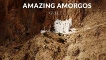 Amazing Amorgos, Greece ( 4k- Time lapse - Tilt- shift - Aerial)