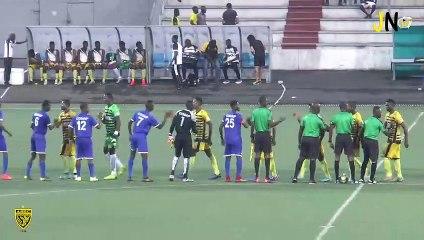 Coupe de la Ligue / 1/2 Finale / COSAP 0 - 3 ASEC Mimosas (Résumé)