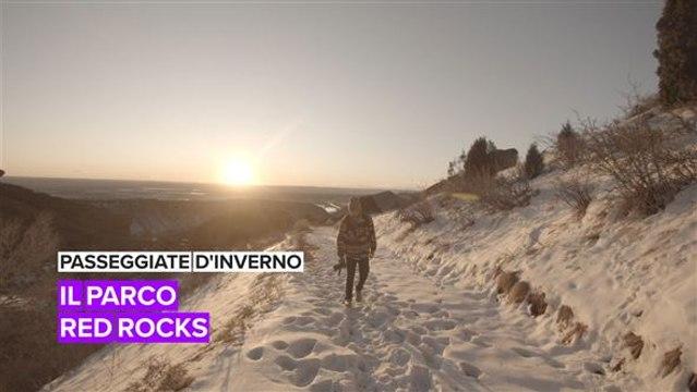 Passeggiate d'inverno: il parco Red Rocks