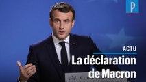Emmanuel Macron sur les retraites : une réforme « historique »
