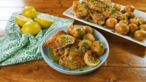 Slow Cooker Lemon Butter Chicken & Potatoes Is The Perfect Weeknight Meal