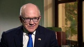U.S. Ambassador Woody Johnson talks up speedy trade deal