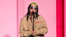 Billie Eilish thanks female peers for 'taking care' of her as she accepts Billboard award