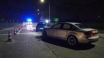 Violent accident à l'angle de la RN511 et de la rue du Château d'eau, à Saint-Léger
