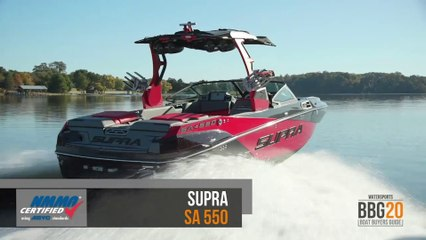 Boat Buyers Guide: 2020 Supra SA 550