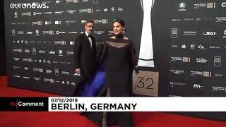 French actress Juliette Binoche celebrated at European Film Awards