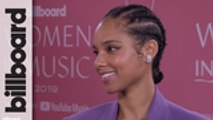 Alicia Keys Discusses Receiving the Impact Award, Possibly Collaborating With Billie Eilish & More | Women In Music 2019