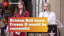 Kristen Bell Was Confident In 'Frozen II'