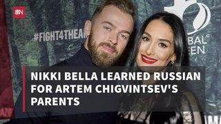 Nikki Bella Is Learning Russian