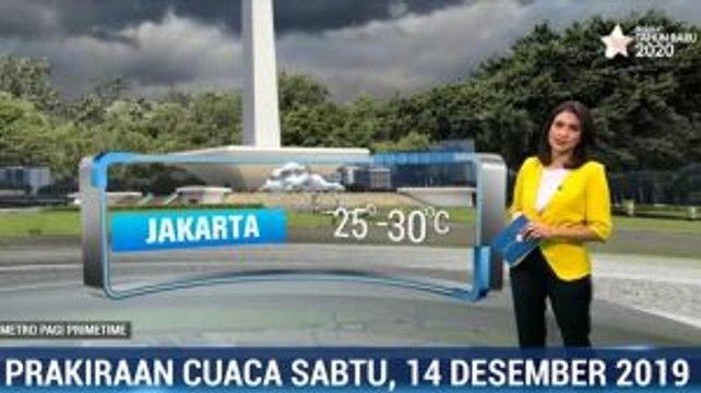 Prakiraan Cuaca Sabtu 14 Desember 2019