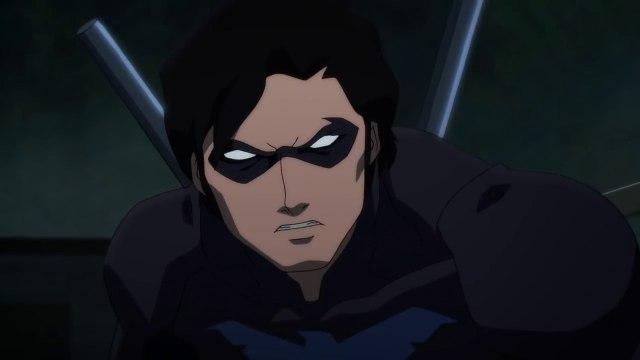 Batman Nightwing vs Batman