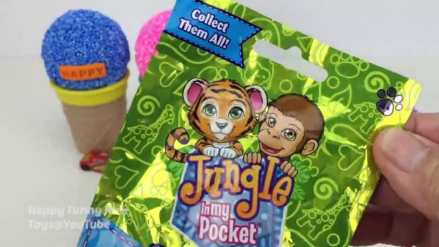 Play Foam Ice Cream Cups Surprise Toys My Little Pony Kitty In My Pocket
