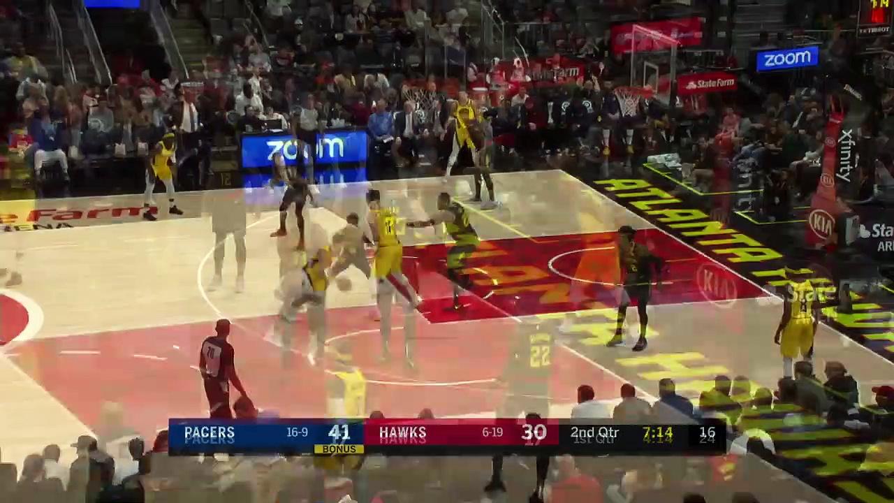 Indiana Pacers 110 - 100 Atlanta Hawks