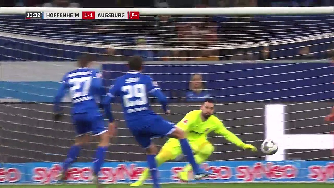 Hoffenheim - Augsburg (2-4) - Maç Özeti - Bundesliga 2019/20