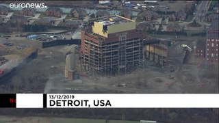 'It's been a blast': Detroit power plant demolished with explosives
