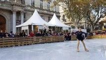 Avignon : venez glisser sur la patinoire de la place de l'Horloge